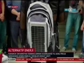 Öğrencilerimizin Buluşu TRT Haber'de