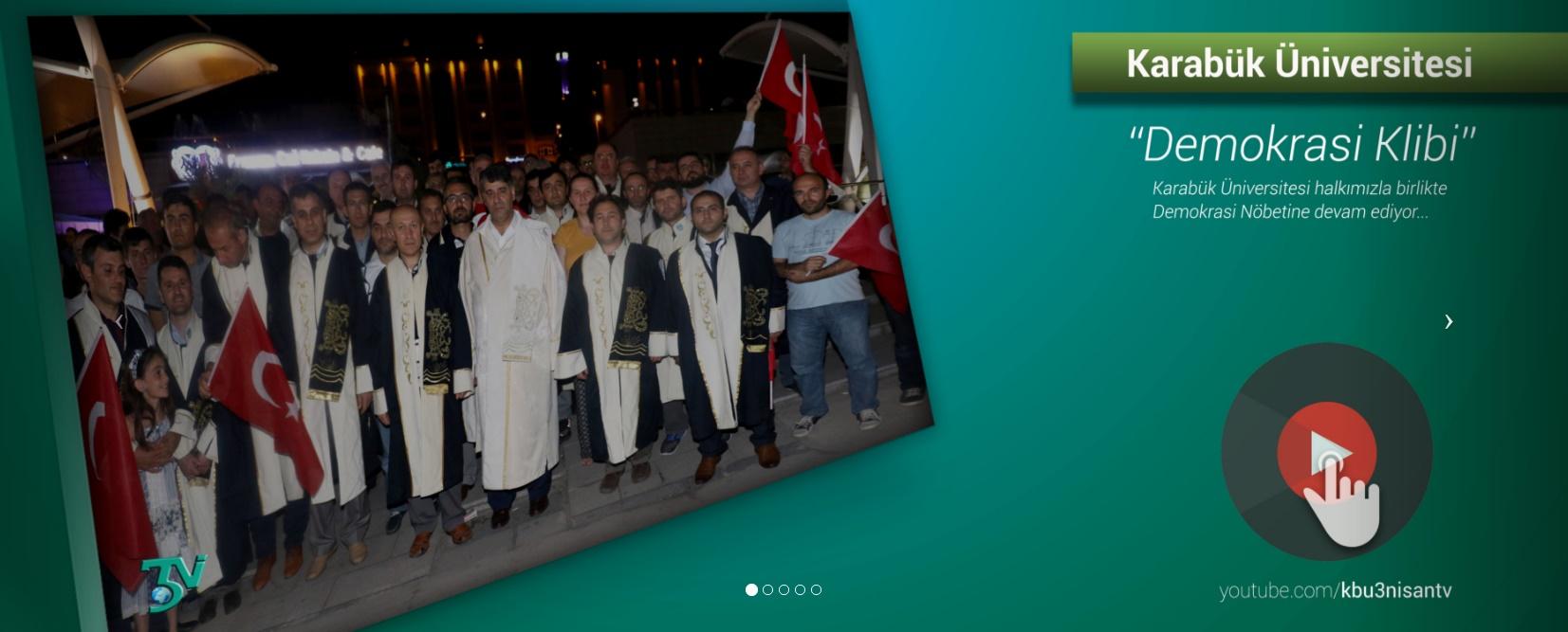 Karabük Üniversitesi Demokrasi Klibi